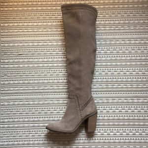 NEW Vince Camuto Suede Over the Knee Boots, Size 9